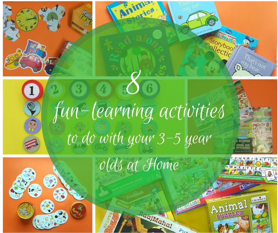 8 Fun Learning Activities To Do With Your 3 5 Year Olds At Home