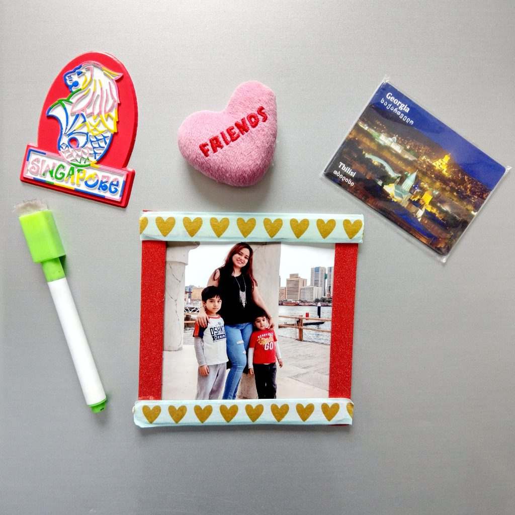 DIY Photo Frame Magnet