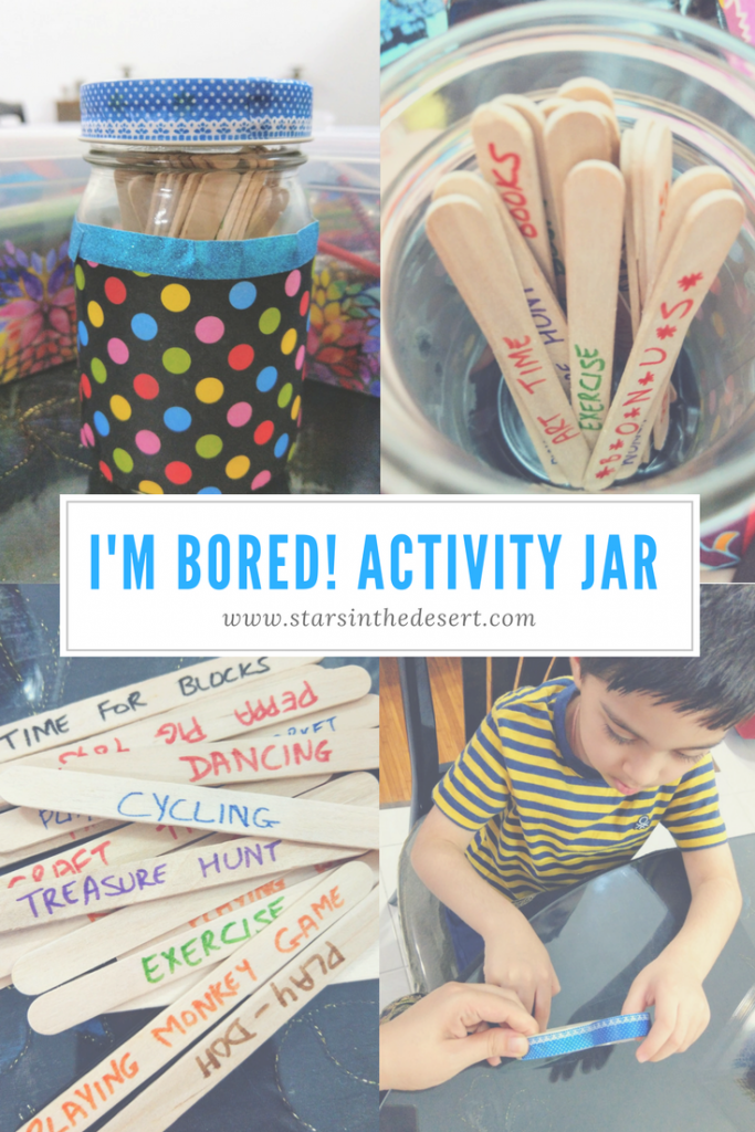 How to make a jar full of Activity Ideas